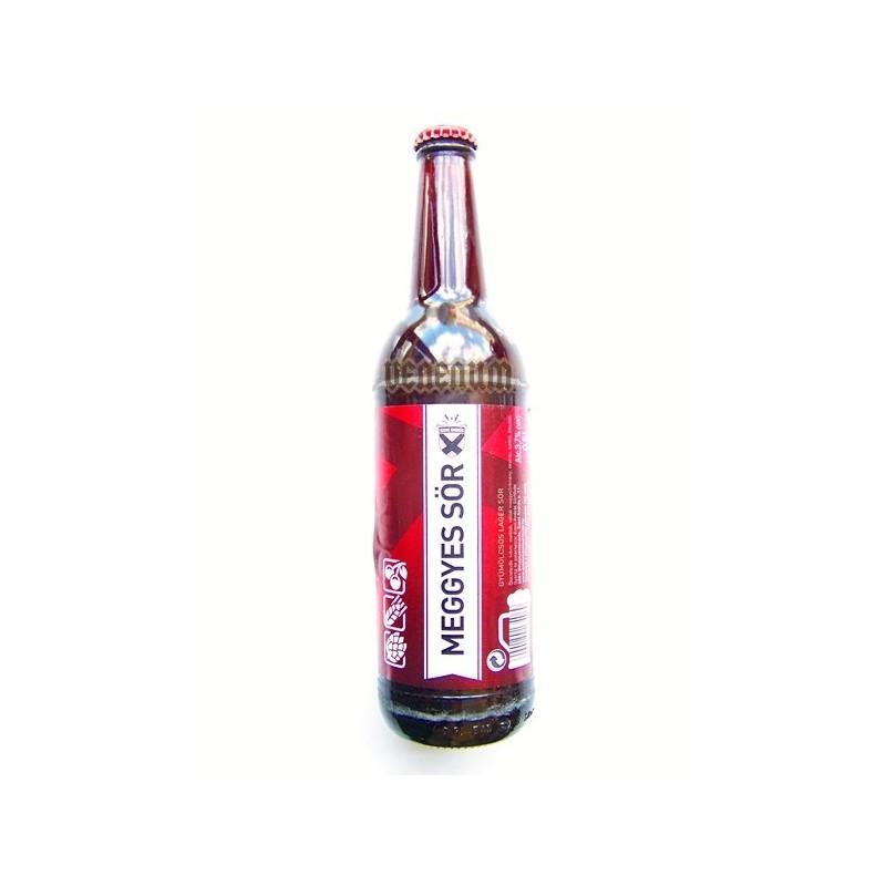 Békésszentandrási Meggyes 0,5L kézműves sörök