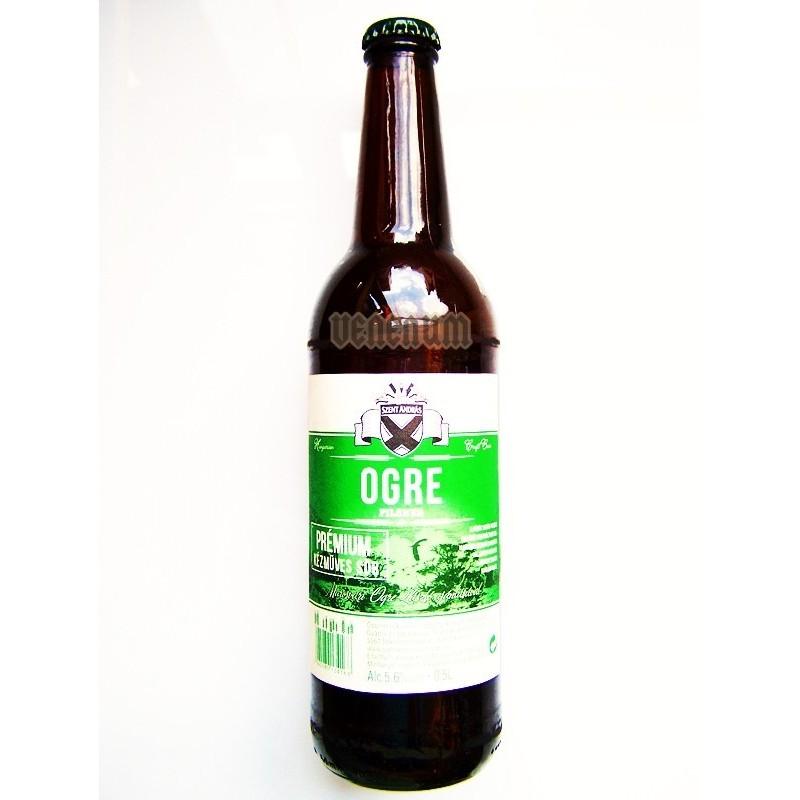 Békésszentandrási Ogre söre 0,5L % kézműves sör