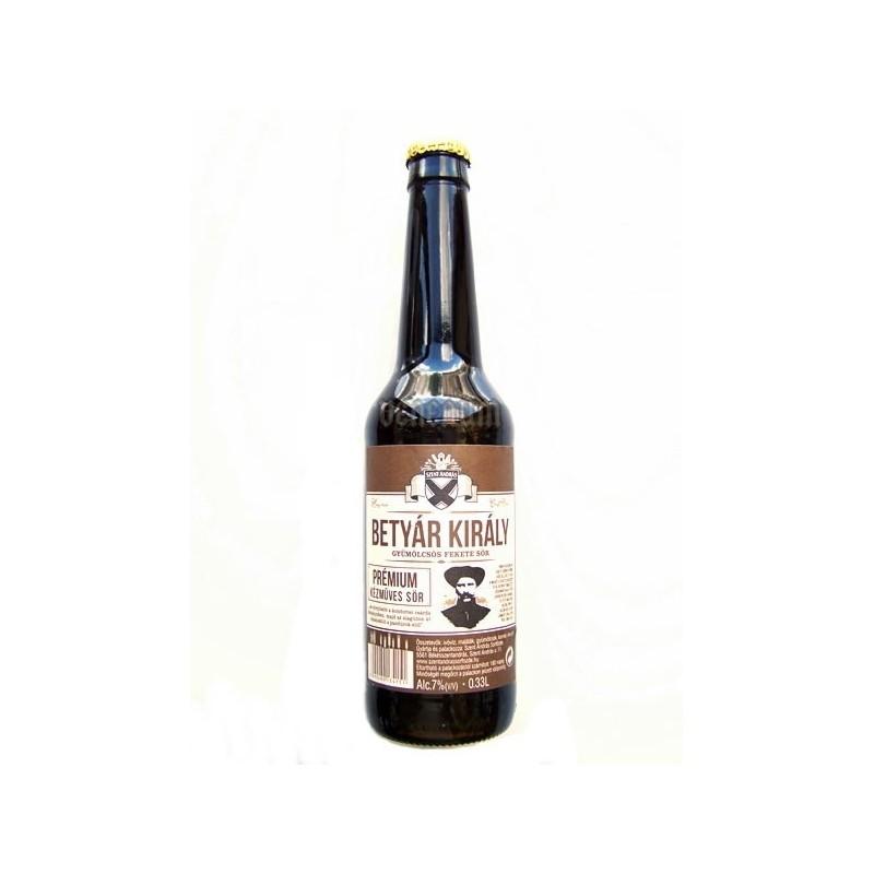 Békésszentandrási Betyár Király 0,33L kézműves sör