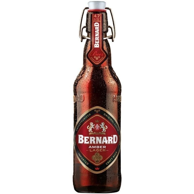 Bernard Amber Lager 0,5L Cseh sör