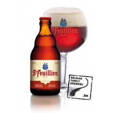 St. Feuillien Brune 0,33L belga sör