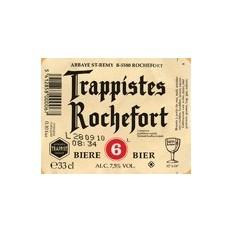 Trapistes Rochefort 6° 0,33L