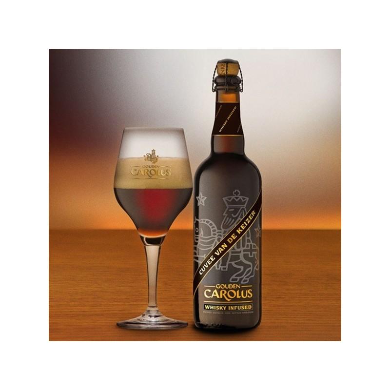 Gouden Carolus Cuvee Van de Keizer  Cuvée Whisky infused 0,75L belga sör