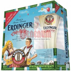 Erdinger Oktoberfest 5+1 búzasör csomag pohárral
