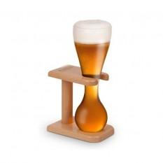 Kwak pohár + fa állvány