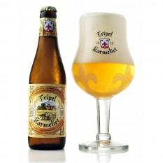 Tripel Karmeliet 0,33L belga sör pohárral.