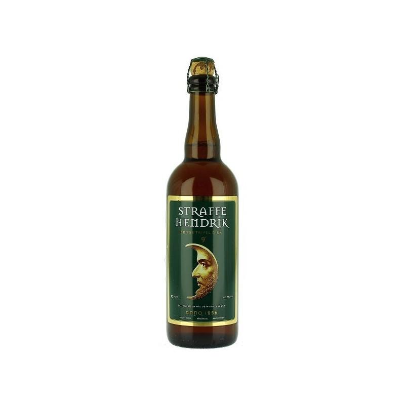 Straffe Hendrik Tripel 0,75l belga sör