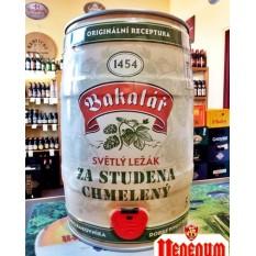 Bakalár Za Studena 5,2% 5l partyhordó cseh sör