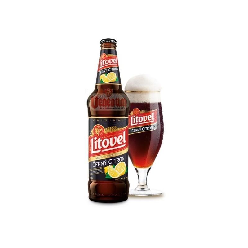 LITOVEL Barna Citromos 0,5L Cseh sör