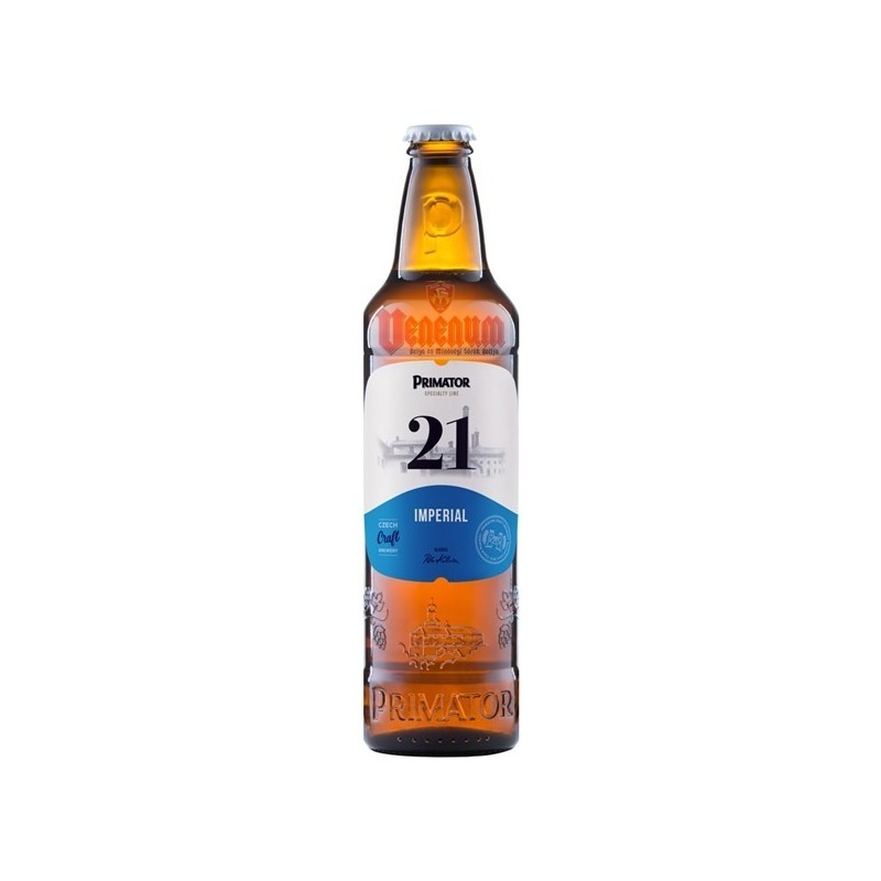 Primátor Imperial (Rytirsky) 21° 0,5L Cseh sör