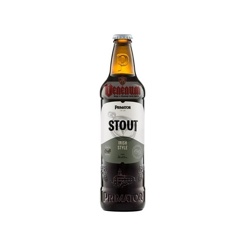 Primátor Stout 0,5L Cseh sör