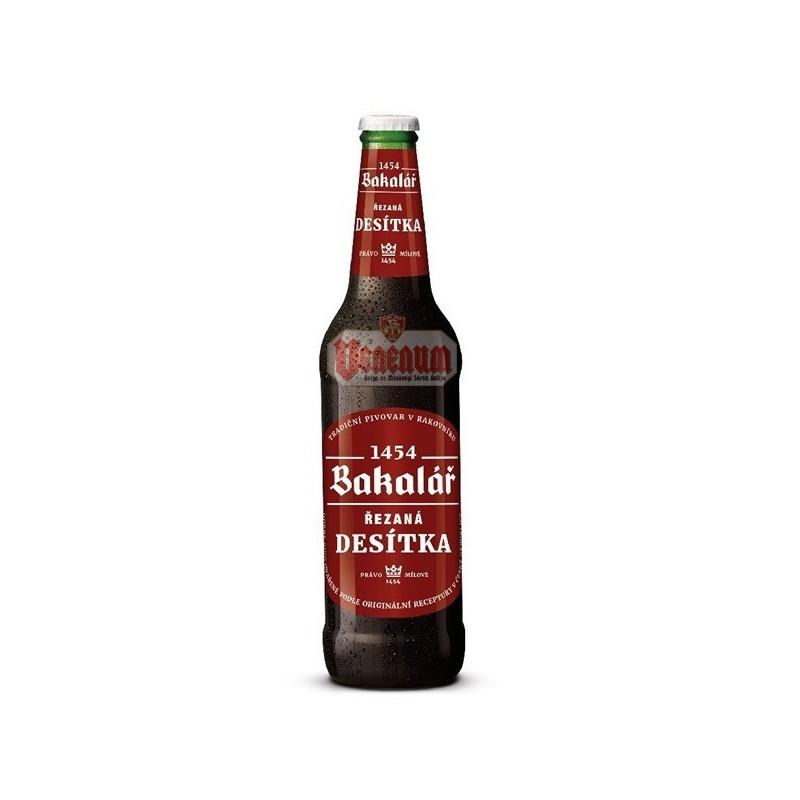 Bakalár Rezaná Desítka 4,2% 0,5l cseh sör