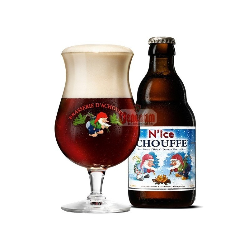 N'Ice Chouffe 0,33L  belga sör