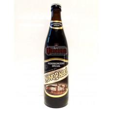 Novopacké Podkrknonssky Tmavy 0,5L 5,3% Cseh sör