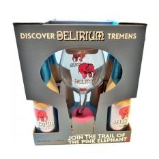 Delirium Tremens díszdoboz 4+1 pohár