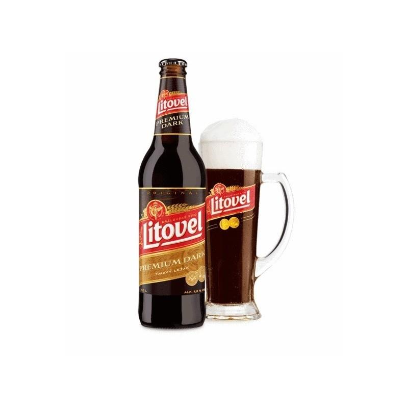 LITOVEL Premium Dark 0,5L Cseh sör
