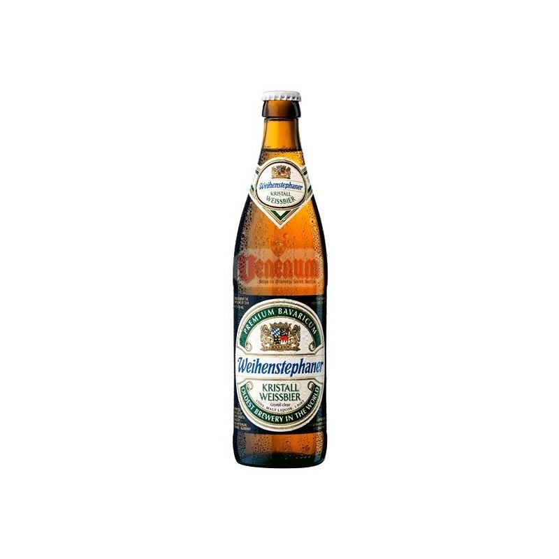 Weihenstephaner Crystaal Hefe 5,4% 0,5L német világos búzasör