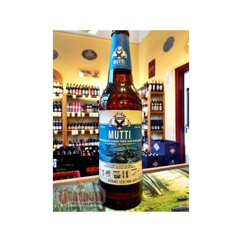 Békésszentandrási Mutti 0,5L kézműves ünnepi sör