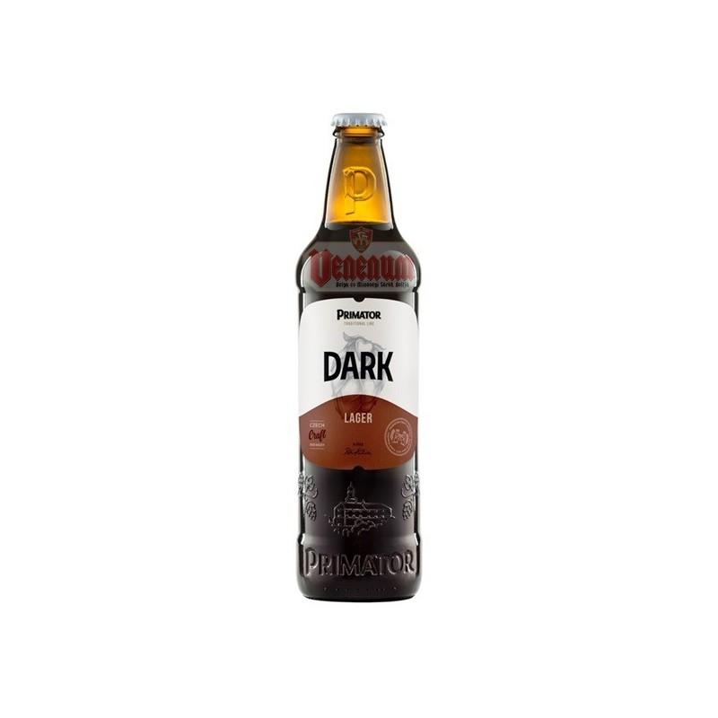Primátor Premium Dark 0,5L Cseh barna sör