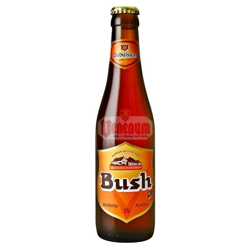 Bush Ambrée 0,33L 12% belga sör