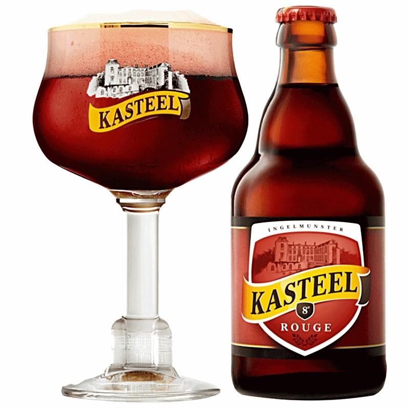 Kasteel Rouge 8° 0,33L