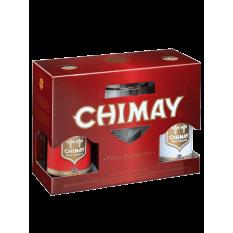 Chimay 2 x 0,33l sör+pohár...