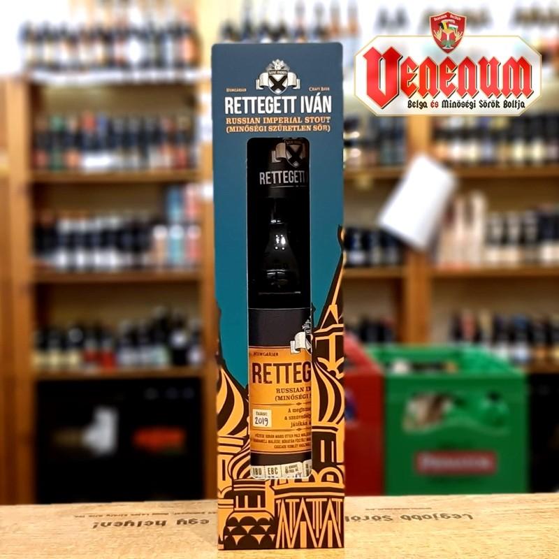 Békésszentandrási Rettegett Iván 0,33L kézműves sör