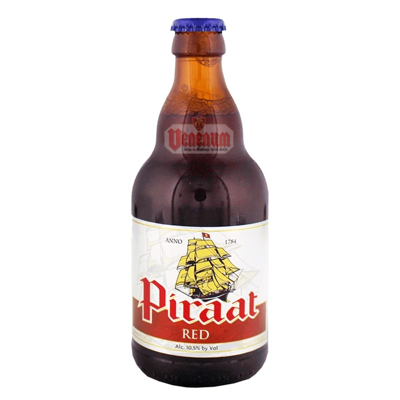 Piraat Red 0,33L belga sör