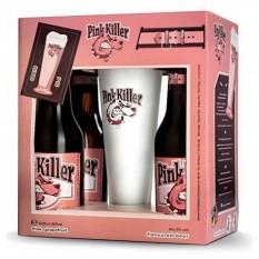 Pink Killer 4x033l + pohár belga díszdoboz