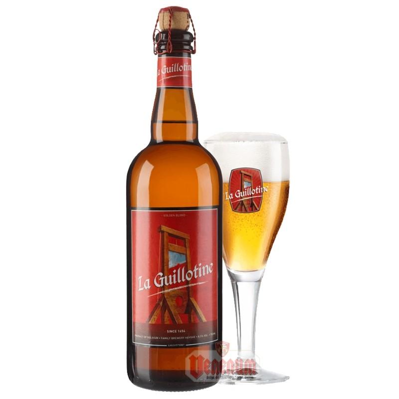 La Guillotine 0,75L  belga sör
