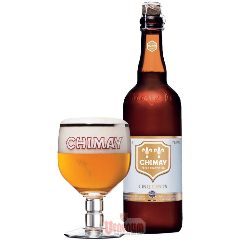 Chimay White 0,75L belga trappista világos sör