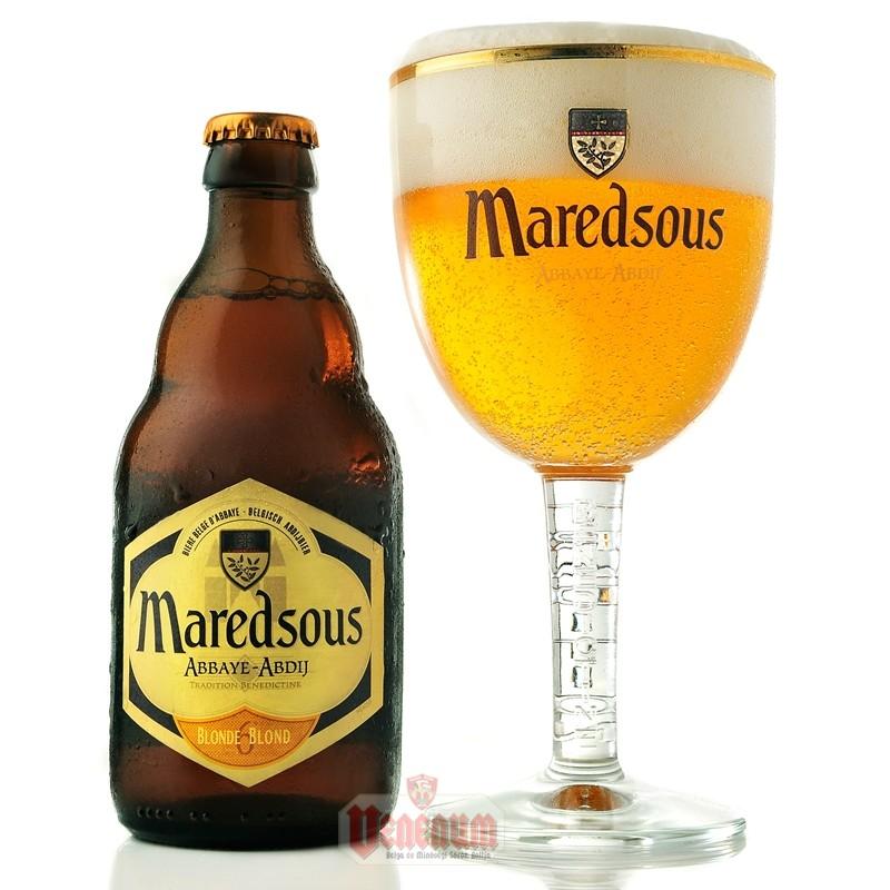 Maredsous Blonde 6° 0,33L  belga sör