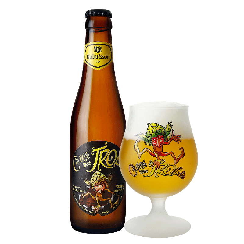Cuvée des Trolls 0,33L belga sör