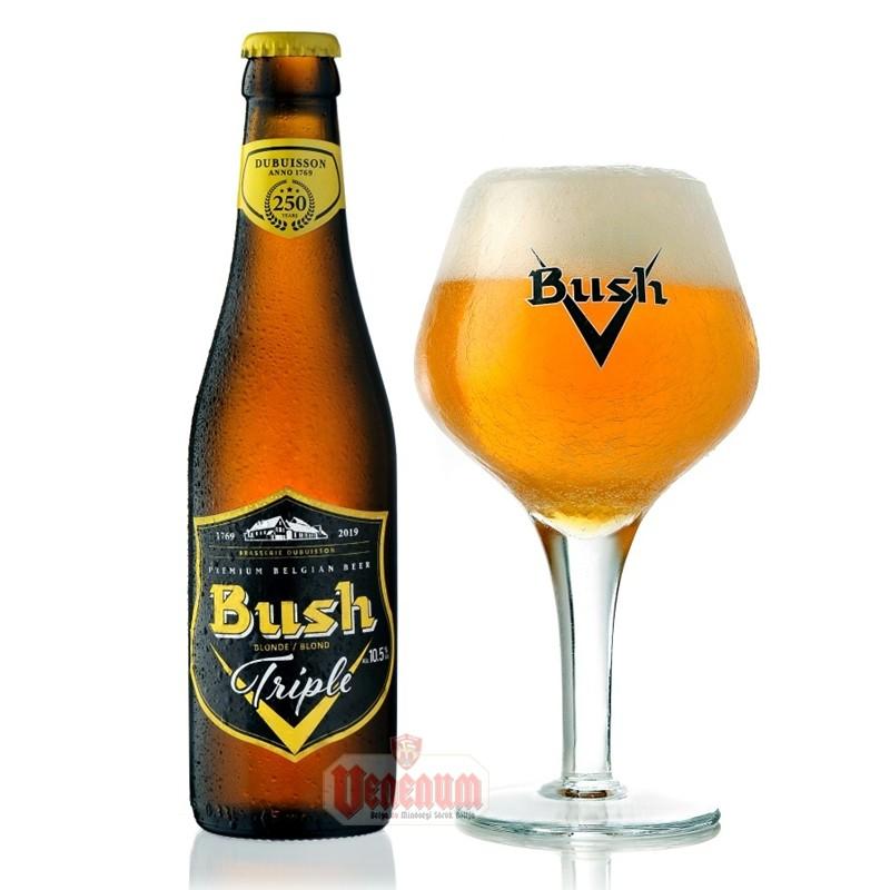 Bush Blond Tripel 0,33L 10,5% belga sör