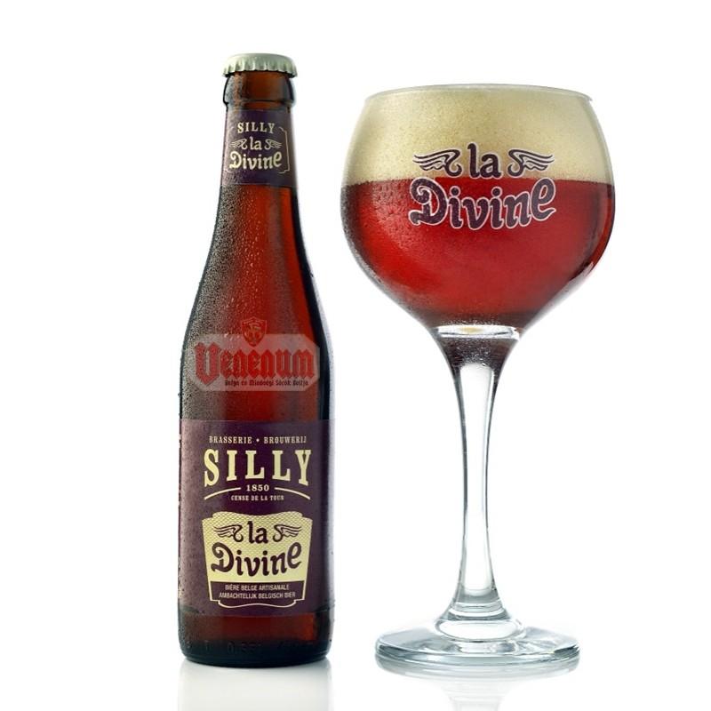 Silly La Divine 0,33L belga sör