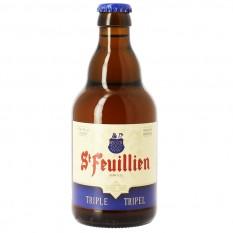 St Feuillien Tripel 0,33L belga sör