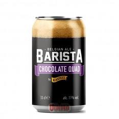 Kasteel Barista Chocolat Quad 11°  0,33L dobozos belga sör