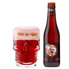 Tete De Mort Red Triple 9% 0,33L belga sör
