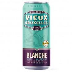 Vieux Bruxelles Blanche 0,5L dobozos belga sör
