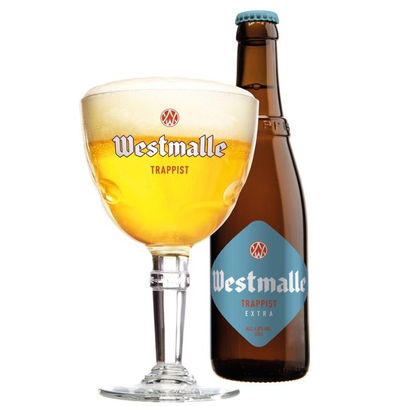 Westmalle Extra 0,33L belga trappista világos sör