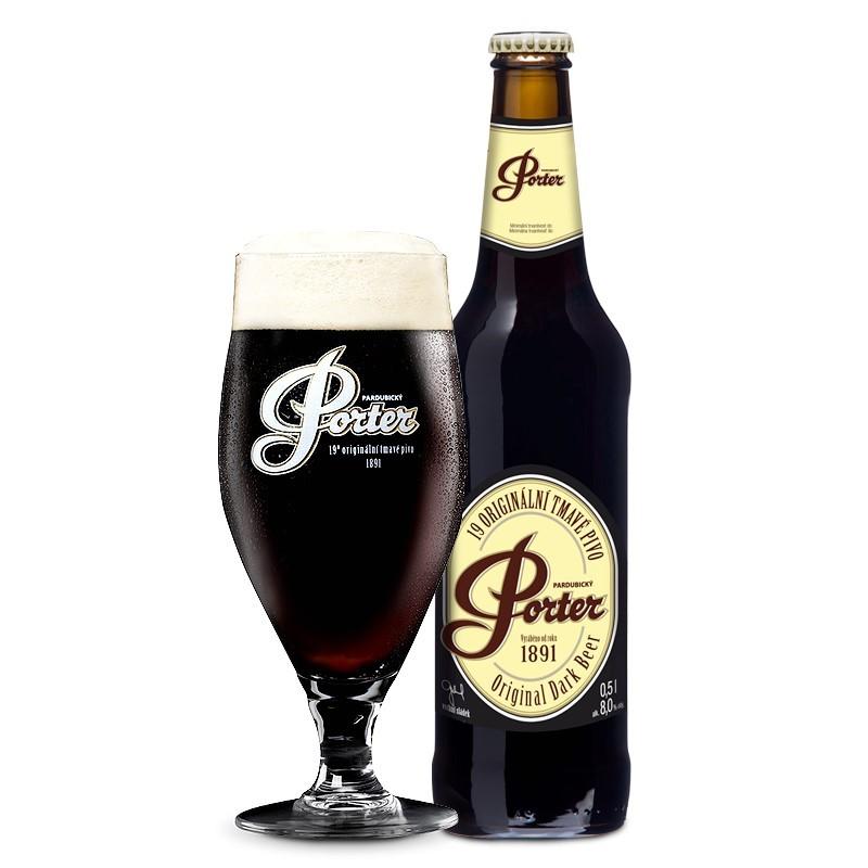 Pardubicky Porter 19° 0,5L Cseh sör