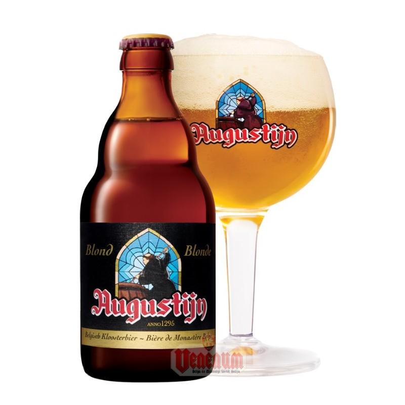 Augustijn Blonde 0,33L belga sör