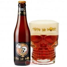 Tete De Mort Ambre 8,1% 0,33L belga sör