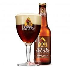 Steenbrugge Brune 0,33L belga sör