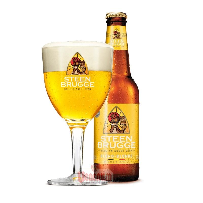 Steenbrugge Blond 0,33L belga sör