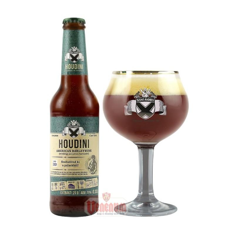 Békésszentandrási Houdini 0,33L kézműves sör  Barleywine