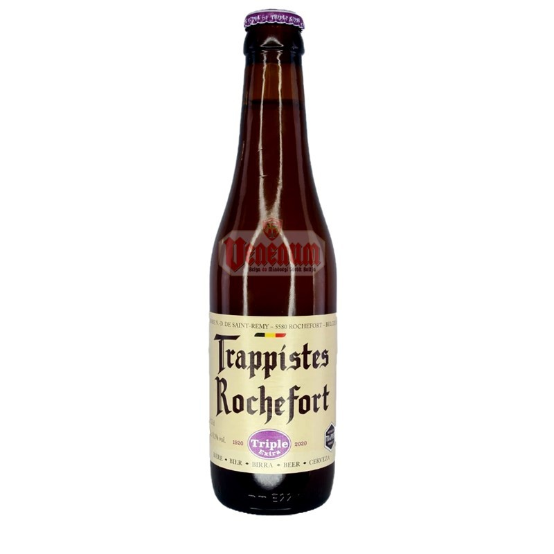 Trappistes Rochefort Tripel 8,1° 0,33L belga trappista sör