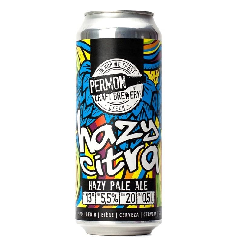 Permon Hazy Citra 16° 0,5L Cseh kraft sör