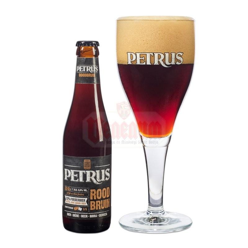 Petrus Rood Bruin 0,33L belga sör