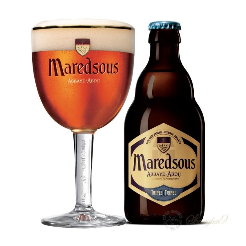 Maredsous Tripel 10° 0,33L belga sör